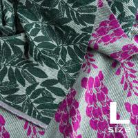 《予約販売10%OFF》             BLOOM blanket | WISTERIA purple (L)130cm×200cm