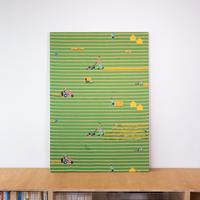 《一点もの》SNIP SNAP SHIBA | fabric art panel