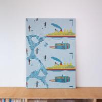 《一点もの》SNIP SNAP LAPLAND mini | fabric art panel
