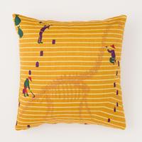 snip snap HAKKUTSU cushion cover | brachiosaurus