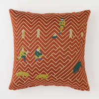 snip snap SATOYAMA cushion cover | fox red