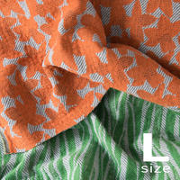 《予約販売10%OFF》             BLOOM blanket | NARCISSUS orange (L)130cm×200cm