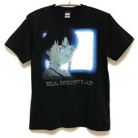 【NUMBER 3】ASCII MONITOR Tシャツ-BLACK-