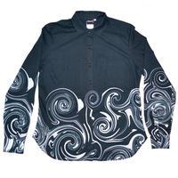 うずまきレディースシャツ / T05-4022