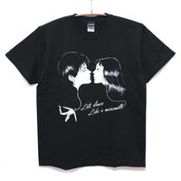 首吊り気球キスTシャツ / T08-4073-B