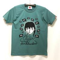 【PUNK DRUNKERS】lain Tシャツ-SAGE BLUE- / T07-4049-B