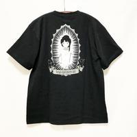 【messa store】れいん Tシャツ-BLACK-