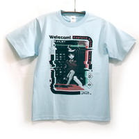 【otooto22】welecom! Tシャツ-LIGHT BLUE-
