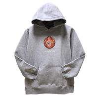 【messa store】Cyberia Bear mix プルオーバーパーカー -GRAY-