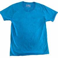 ヴィンテージウォッシュ Tシャツ - Blue.