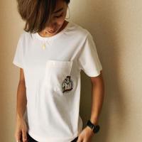 キャプテン刺繍Tシャツ Captain.