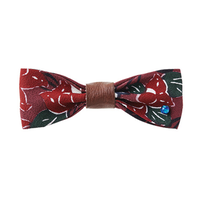BOUGAINVILLEA LEATHER/BOW TIE