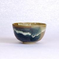 高取 掛分茶碗 高取春慶作