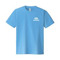 【期間限定】HADO Tシャツ - ロゴ小(サックス)