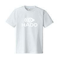 【期間限定】HADO Tシャツ - ロゴ大(シルバーグレー)