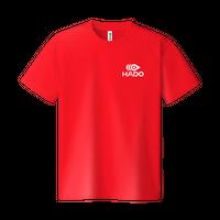【期間限定】HADO Tシャツ - ロゴ小(レッド)