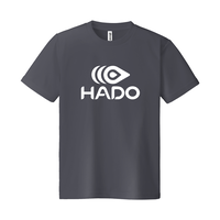 【期間限定】HADO Tシャツ - ロゴ大(ダークグレー)