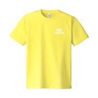 【期間限定】HADO Tシャツ - ロゴ小(イエロー)