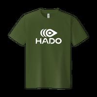 【期間限定】HADO Tシャツ - ロゴ大(オリーブ)