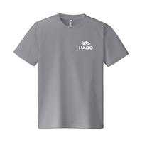 【期間限定】HADO Tシャツ - ロゴ小(グレー)