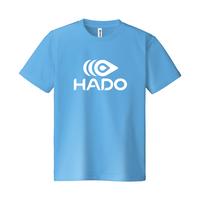 【期間限定】HADO Tシャツ - ロゴ大(サックス)