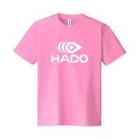 【期間限定】HADO Tシャツ - ロゴ大(ピンク)