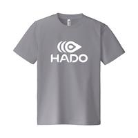 【期間限定】HADO Tシャツ - ロゴ大(グレー)