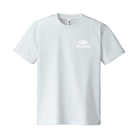 【期間限定】HADO Tシャツ - ロゴ小(シルバーグレー)