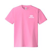 【期間限定】HADO Tシャツ - ロゴ小(ピンク)
