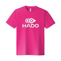 【期間限定】HADO Tシャツ - ロゴ大(ホットピンク)
