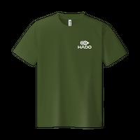 【期間限定】HADO Tシャツ - ロゴ小(オリーブ)