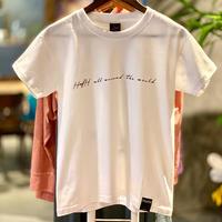HafHメッセージプリントTシャツ