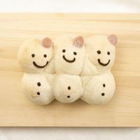 【卵乳不使用】米粉入りロール雪だるま(No.102)