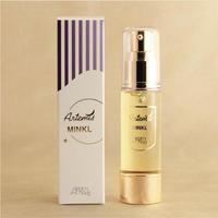 ミンクル アーテミス基礎化粧品シリーズ   さらりとした化粧用油  純度 99・99%のイギリス産  ピュアミンクオイル+コエンザイムQ10   ユビキノン配合 黄金の雫