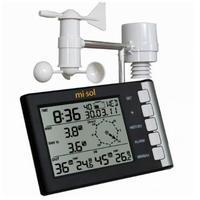 プロフェッショナル ウェザーステーション 風速 風向 温度 湿度 雨 433 mhz