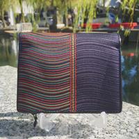 波筬(なみおさ)二つ折財布【307-5 紺】
