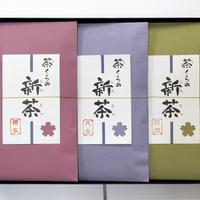 茶くらの新茶 3本入り(博多・八女・薩摩)