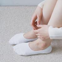 リネンフットカバー / Linen No-show Liners