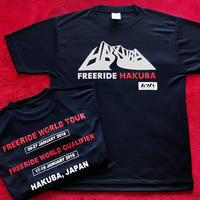<SALE>2018 freeride hakuba Official T-shirt