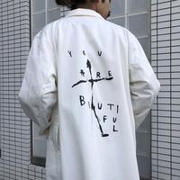 ショップコート/ haku x Levi Pata[imagine]ロング丈