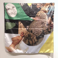 onnacodomo collage artwork Scarf 09「Grab」