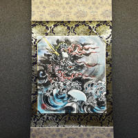 Dragon hanging scroll shikishi paper