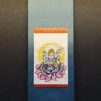 Ganesha hanging scroll original picture
