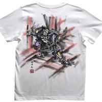 T-shirts men Asahina color Japanese sumi-e Art