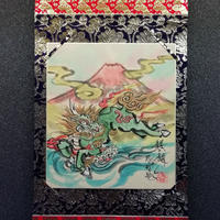 Kirin hanging scroll shikishi paper
