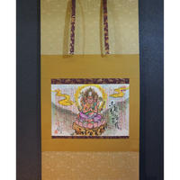 Batoh Kannon hanging scroll Hannya Shingyo The Heart Sutra Art-Shakyo