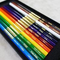 【発色抜群】油性色鉛筆カリスマカラー 12色セット