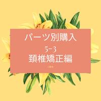 5-3 パーツ別購入 頚椎矯正(DVD/microSDカード)