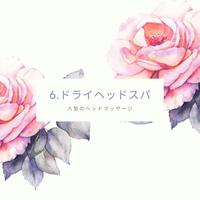 6.ドライヘッドスパ(DVD/microSDカード)