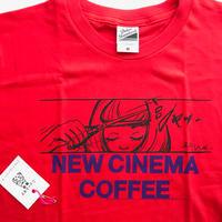 NEW CINEMA COFFEE T-shirts 2019◎ニューシネマ珈琲 Tシャツ・ロゴ・パープル
